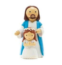 Little Drops of Water Little Drops of Water: First Communion Girl with Jesus