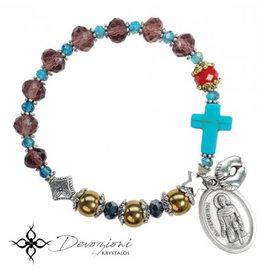Nosotras Boutique Saint Bracelet: St. Peregrine