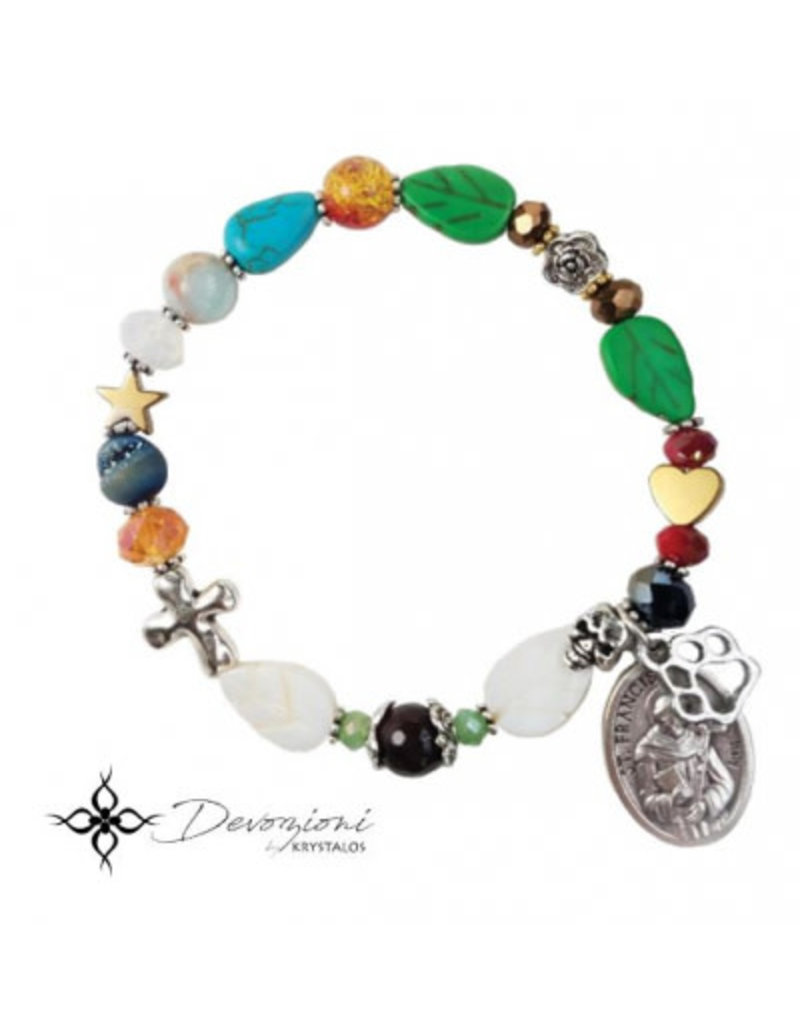 Nosotras Boutique Saint Bracelet: St. Francis of Assisi and the Canticle of the Creatures