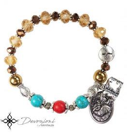Nosotras Boutique Saint Bracelet: St. Anthony of Padua