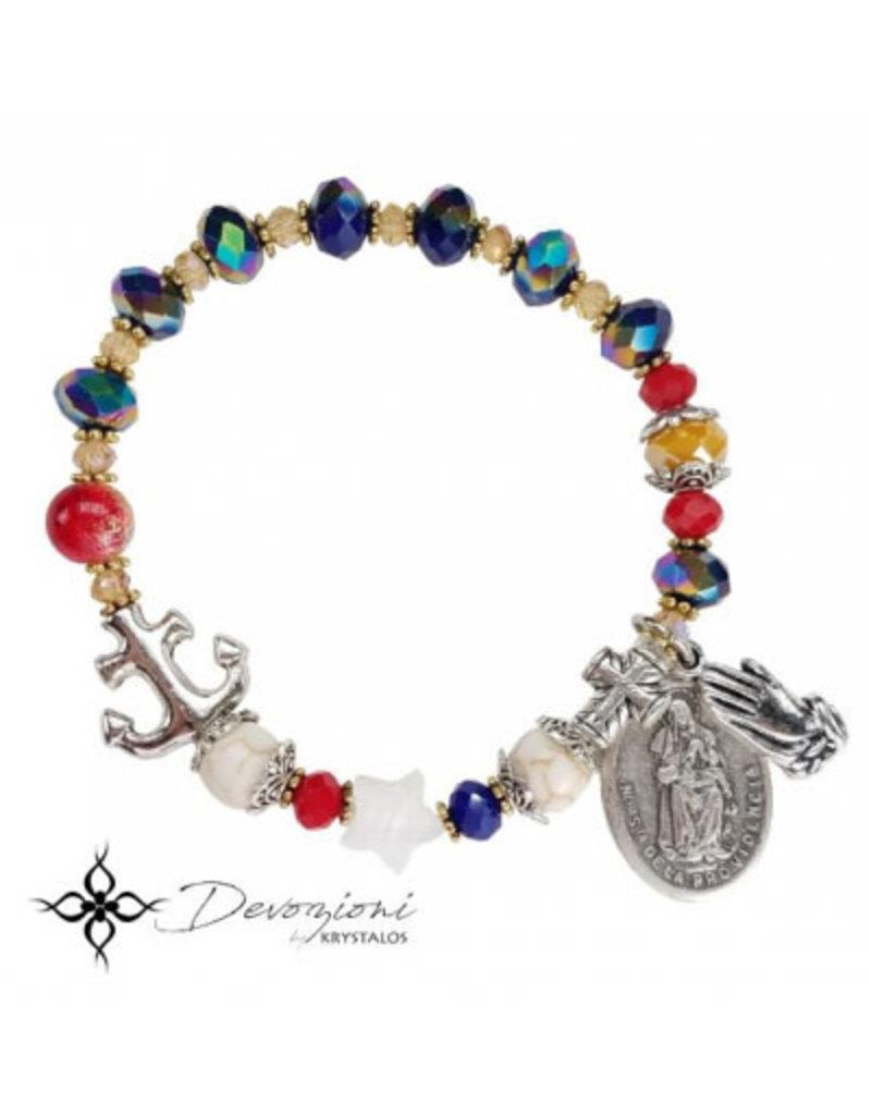 Nosotras Boutique Saint Bracelet: Virgin of Providence