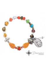 Nosotras Boutique Saint Bracelet: Sacred Heart of Jesus and His 12 Promises