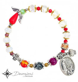 Nosotras Boutique Saint Bracelet: Virgin of Fatima