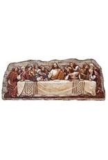 """Roman, Inc 5"""" Last Supper Plaque"""