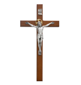 "McVan 10"" Cherry Wood Crucifix"