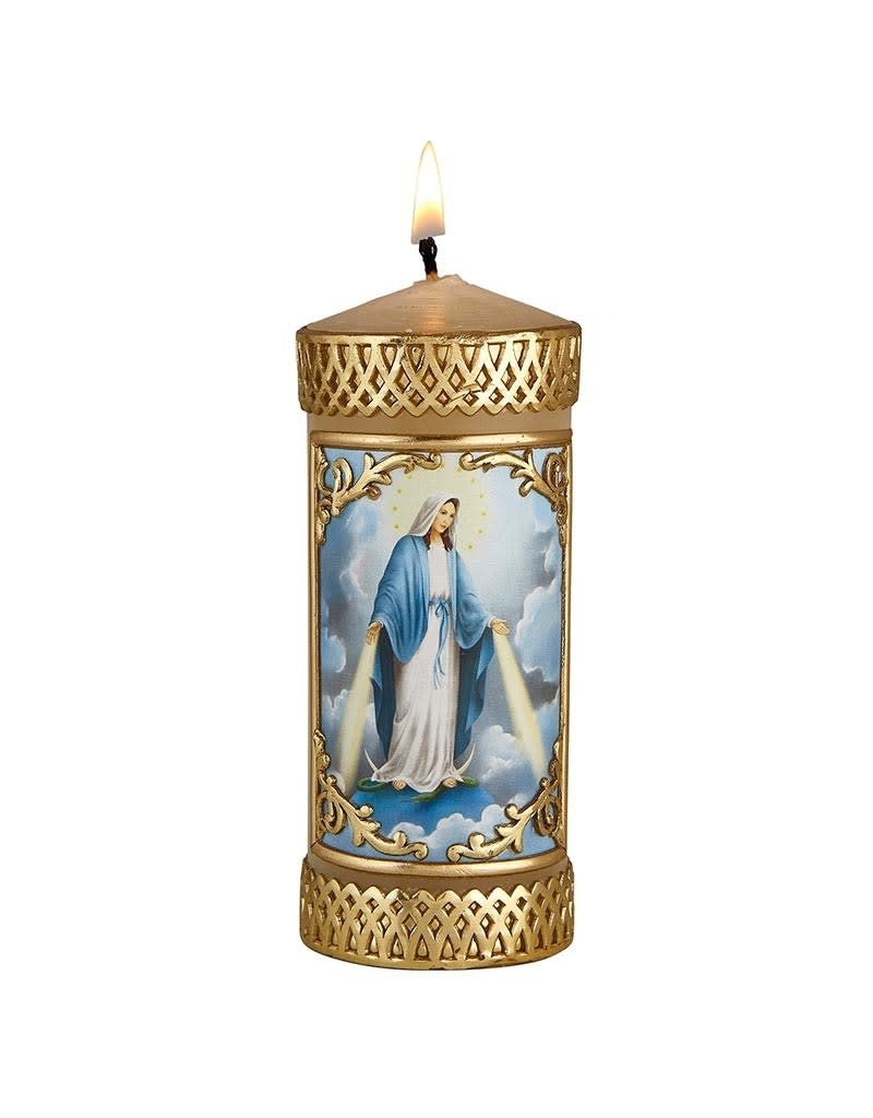 Will & Baumer Our Lady of Grace Devotional Candle