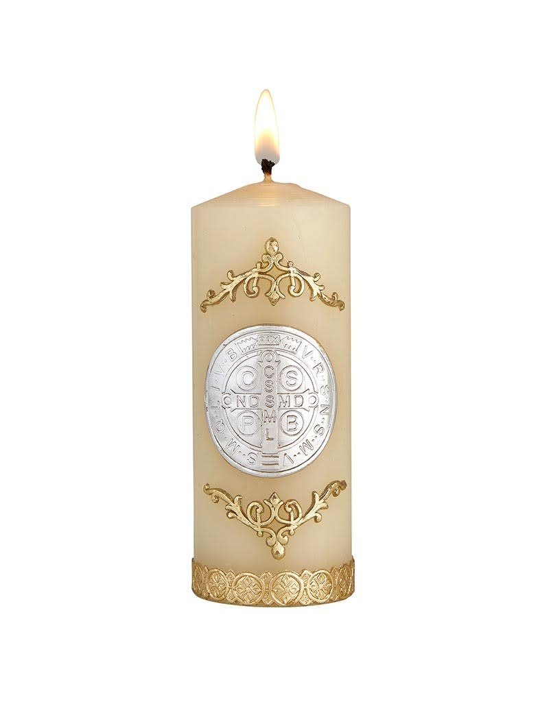 Will & Baumer St. Benedict Devotional Candle