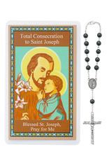 McVan Total Consecration to St. Joseph Hematite Auto Rosary