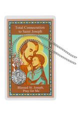 McVan Total Consecration to St. Joseph Pendant Set