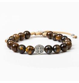 My Saint My Hero Courage Tiger's Eye Power Bracelet