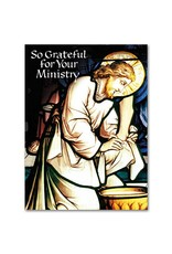 The Printery House So Grateful for Your Ministry Priest Appreciation Card