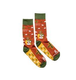 Sock Religious St. Dymphna Adult Socks