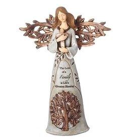 Roman, Inc Love of a Family Angel Figurine