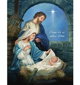 CB Gift Jigsaw Puzzle-Come Let Us Adore Him (504 Pieces)