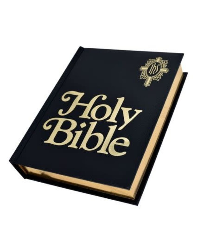Catholic World Publishing NABRE Catholic Family Bible-Black Imitation Leather