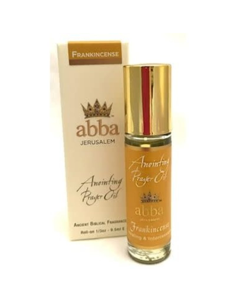 Abba Anointing Anointing Oil-Roll On-Frankincense- 1/3 oz