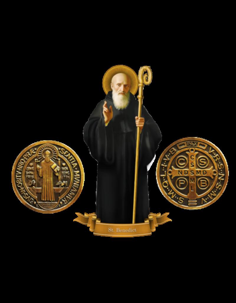 Devout Decals St. Benedict Decal Set