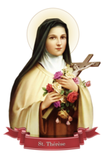 Devout Decals St. Therese of Lisieux Decal