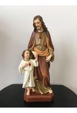 "Fiat Imports 17"" St. Joseph with Child Jesus"