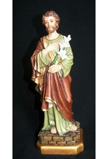 """Fiat Imports 11"""" St. Joseph with Lily Statue"""
