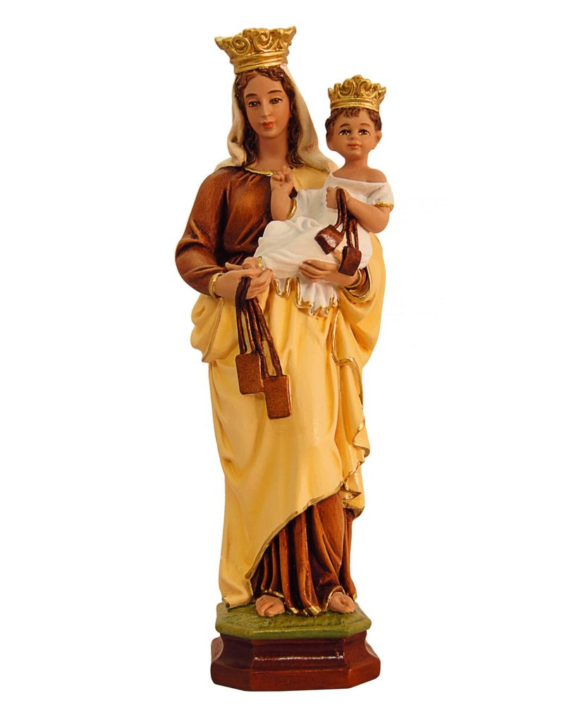 """Fiat Imports 10"""" Our Lady of Mount Carmel Statue"""