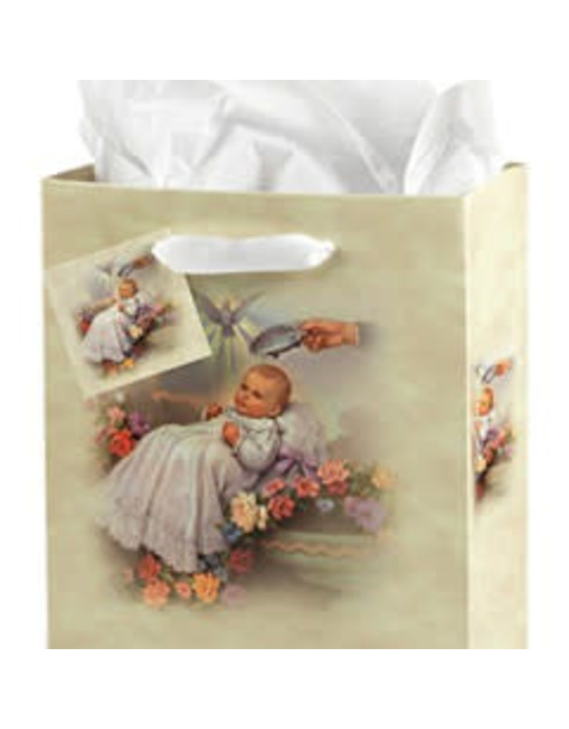 WJ Hirten Medium Baptism Gift Bag