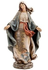 "Avalon Gallery 12"" Hail Mary Statue"