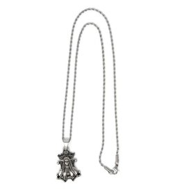 In Via Blessed Mother Handmade Pendant with Chain