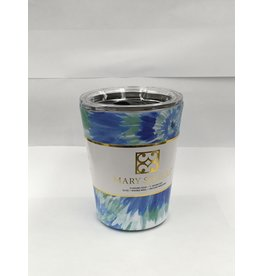 Mary Square Stainless Coffee Tumbler Blue Rush