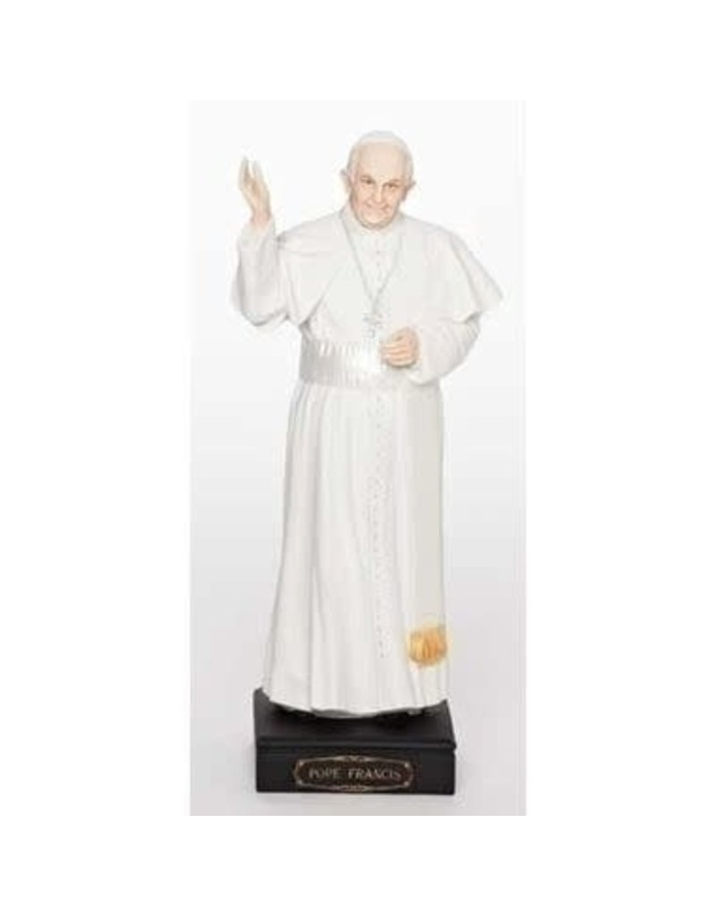 """Galleria Divina 10.75"""" Pope Francis Statue"""