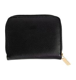 Mary Square Hide & Seek Wallet- Black