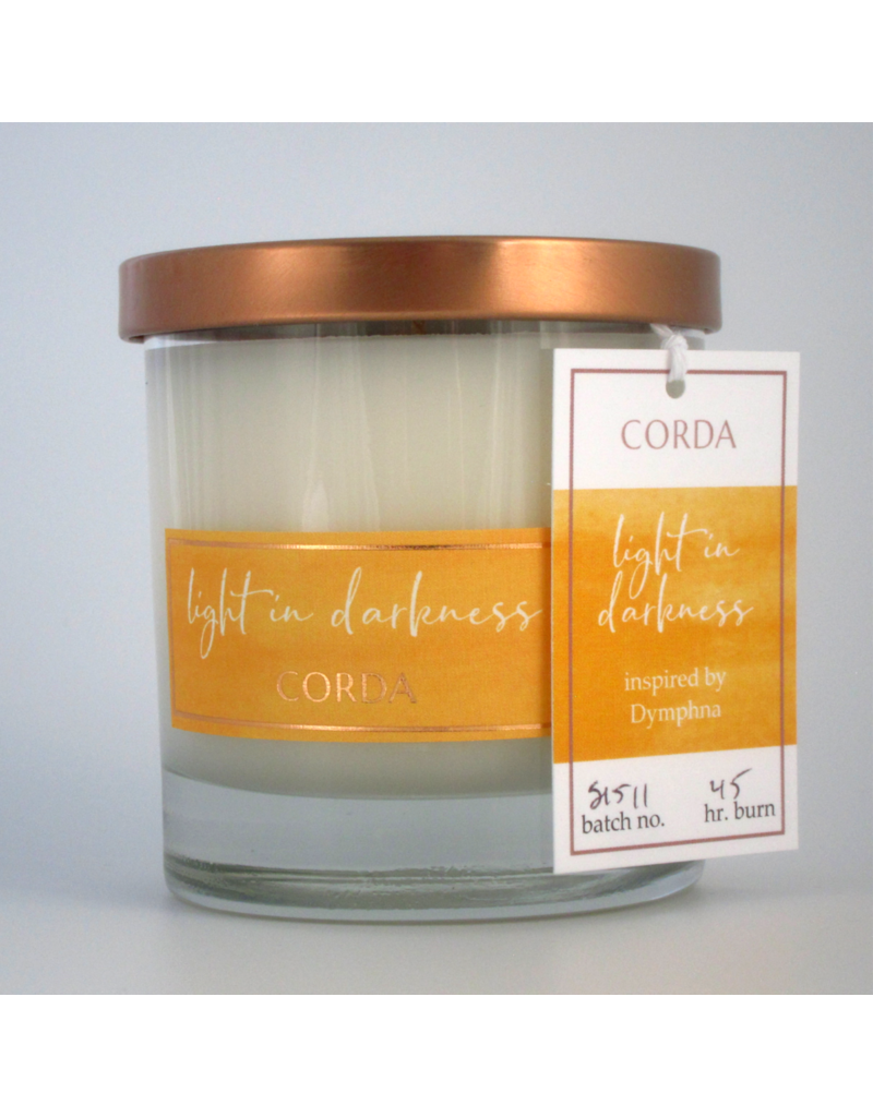 Corda Corda Handcrafted Candle-Light in Darkness