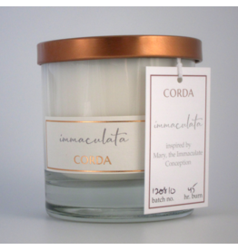 Corda Corda Handcrafted Candle- Immaculata