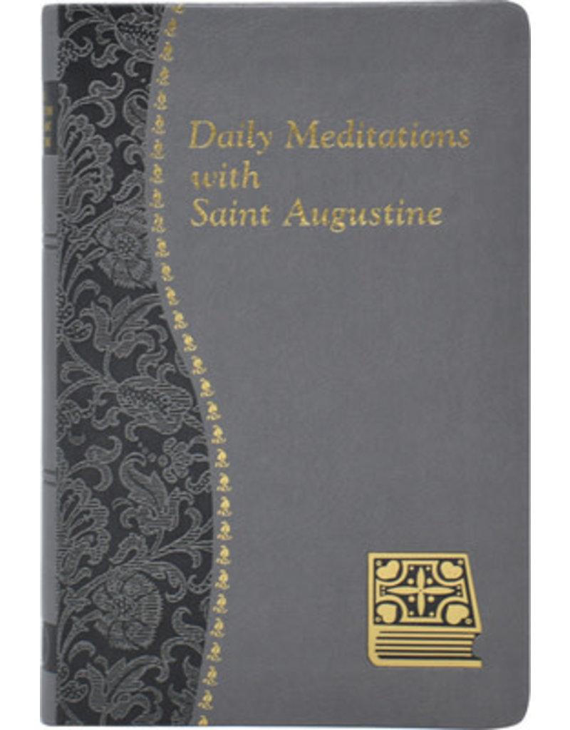 Catholic Book Publishing Corp Daily Meditations With Saint Augustine