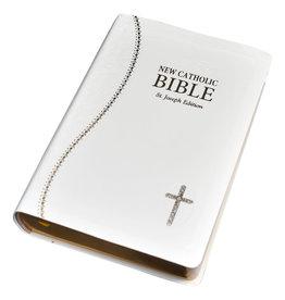 Catholic Book Publishing Corp St. Joseph New Catholic Bible- White
