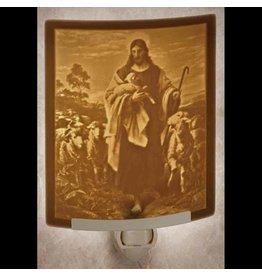 The Porcelain Garden Curved Night Light Good Shepherd