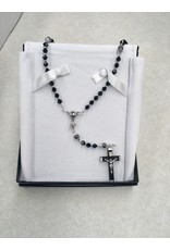 Artisan Jewelry Rosaries Black First Communion Rosary Artisan Heirloom Collection