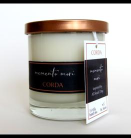 Corda Corda Handcrafted Candle- Memento Mori,  All Souls' Day