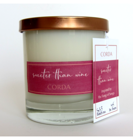 Corda Corda Handcrafted Candle- Sweeter than Wine