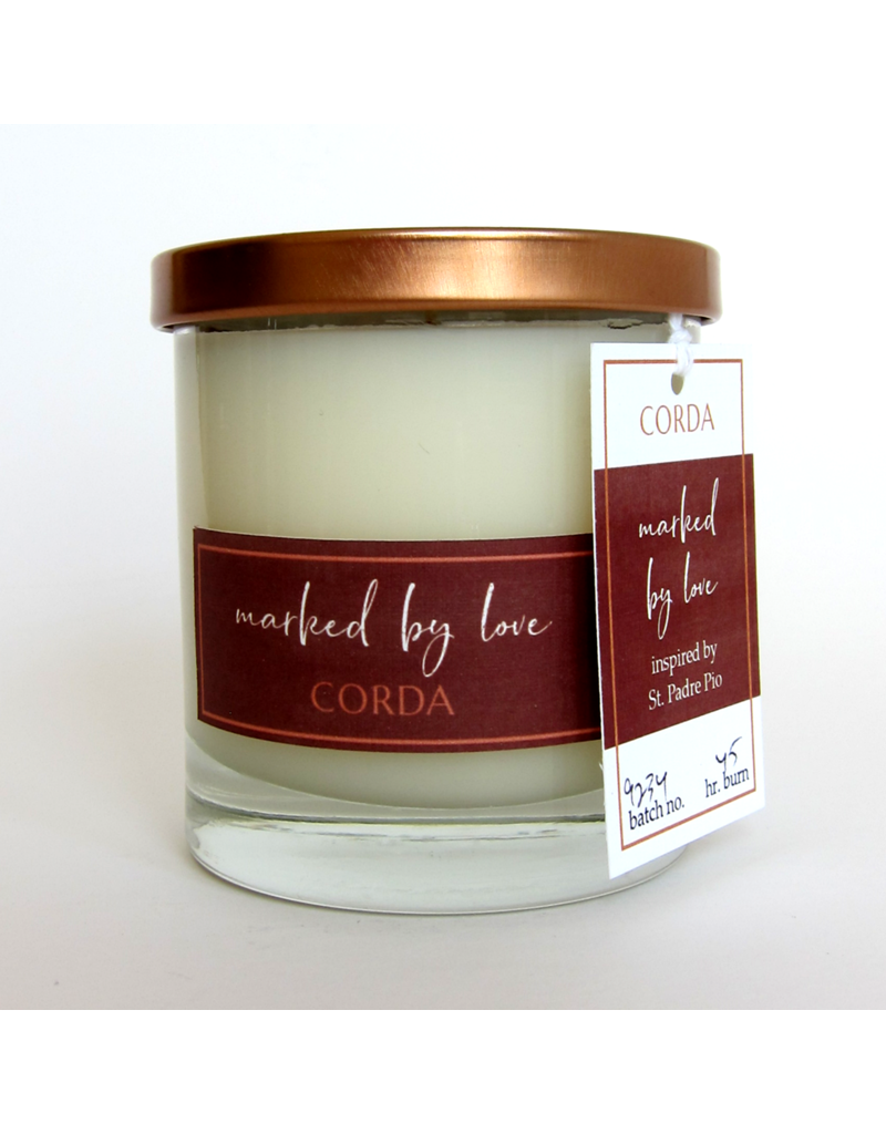 Corda Corda Handcrafted Candle- Marked by Love
