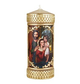 Will & Baumer Holy Family Devotional Candle