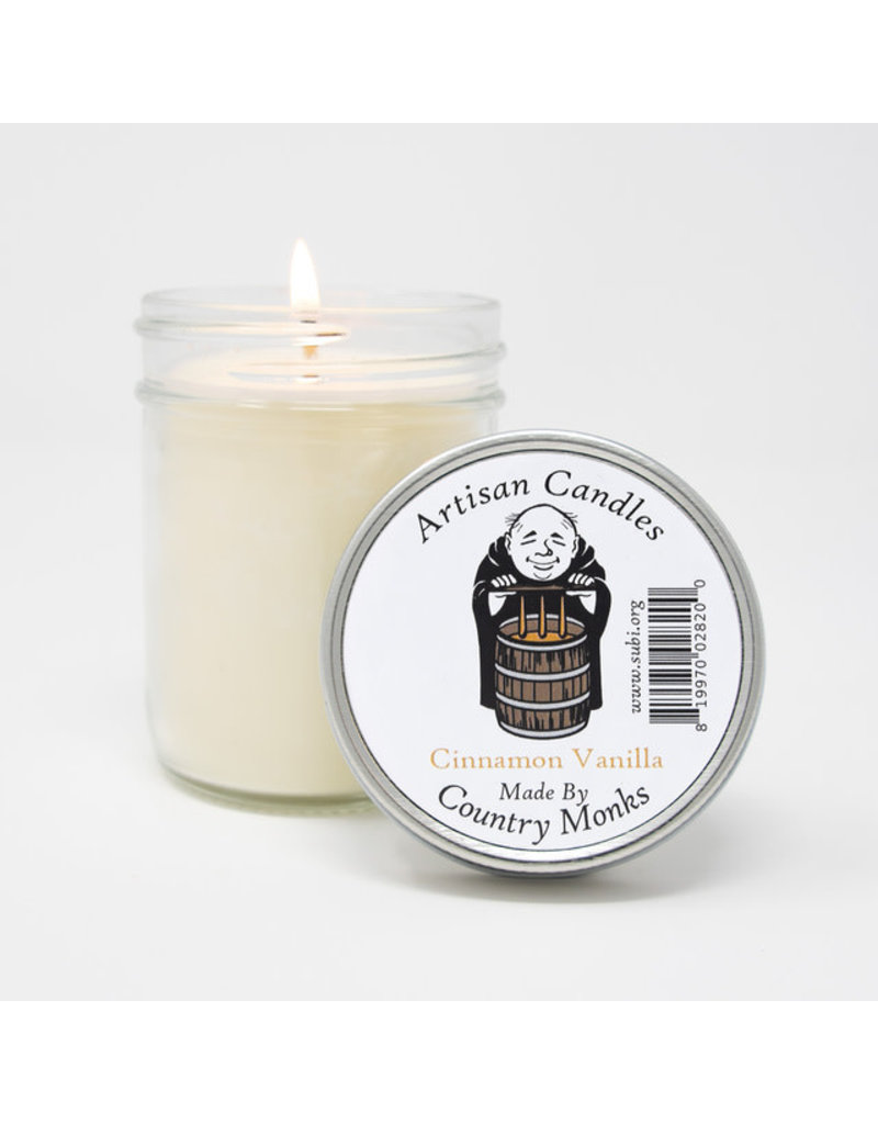 Artisan Candles Handcrafted Artisan Candles (Cinnamon Vanilla)