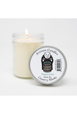 Artisan Candles Handcrafted Artisan Candle (peppermint)