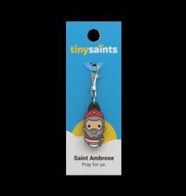 Tiny Saints Tiny Saint Charm Saint Ambrose