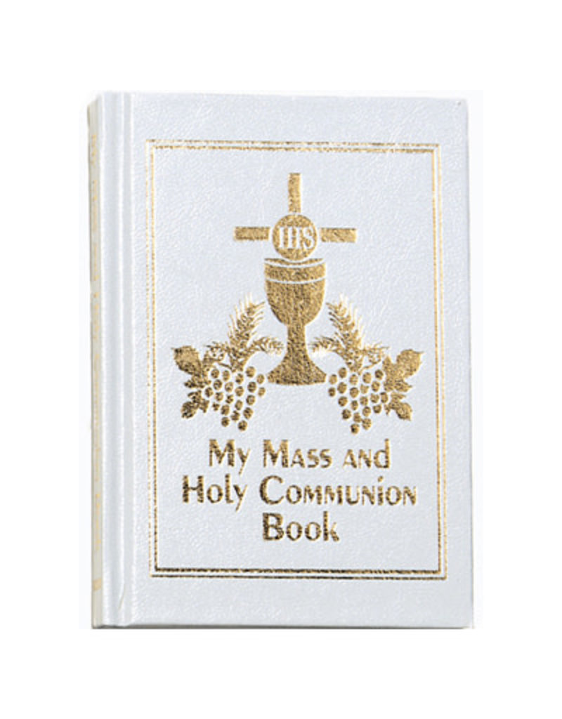 Devon Trading Company My Mass and Holy Communion Book (White)