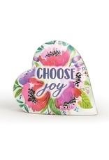 Roman, Inc Choose Joy Music Box (Heart Shaped)