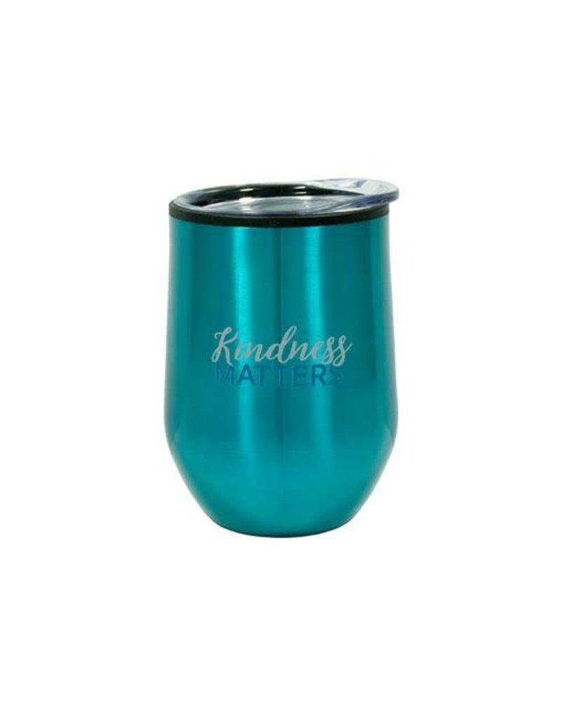 Swanson Christian Products 12oz Mug Tumbler Kindness Matters (Teal)