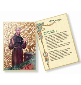 WJ Hirten Oración De San Francisco St. Francis Mosaic Plaque