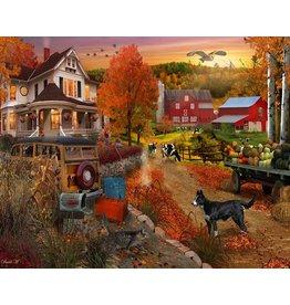 Vermont Christmas Company Jigsaw Puzzle-Country Inn & Farm (1000 pieces)