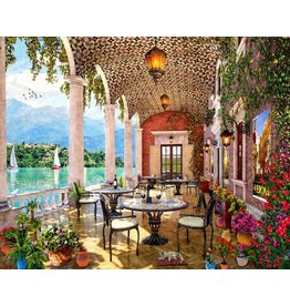 Vermont Christmas Company Jigsaw Puzzle Summer-Terrace (1000 Pieces)